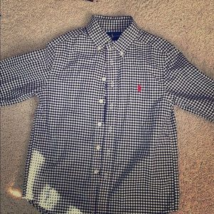 Boys Ralph Lauren shirt Size 8 EUC